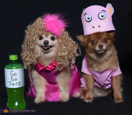 Honey Boo Boo & Glitzy the Pig Costume