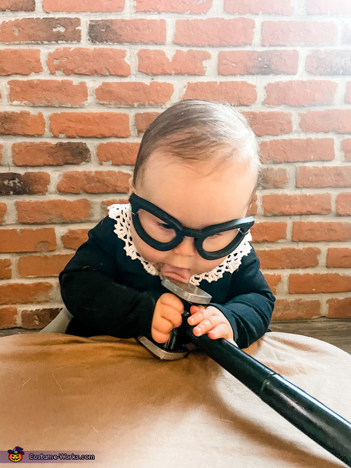 Honorable Justice Ruth Bader Ginsburg Homemade Costume