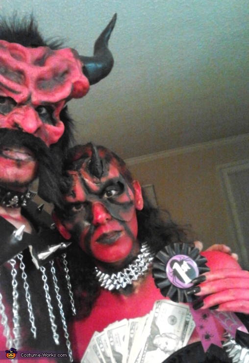 PREDICTION :-) LOL, Horny Beast and Demon Dominatrix Costume
