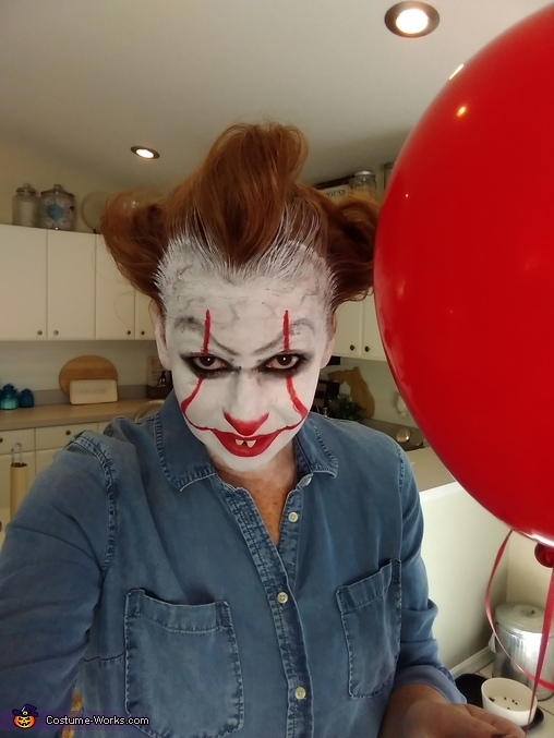 Pennywise, Horror Movie Characters Costume