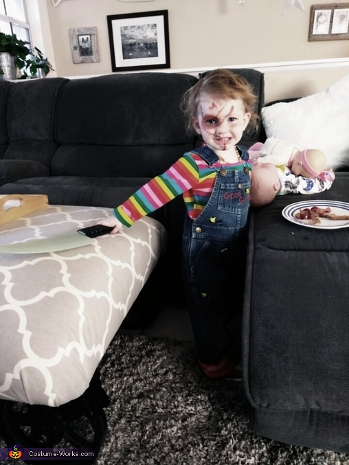 Chucky, Horror Movie Characters Costume