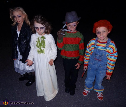 Horror Movies - Homemade costumes for kids