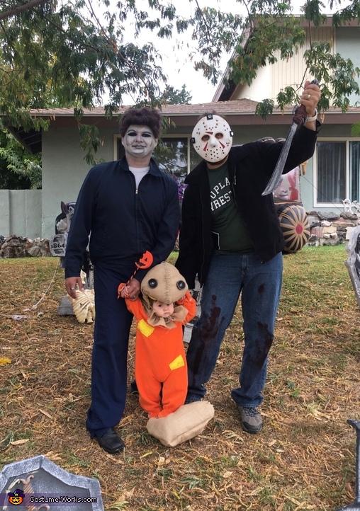 Horror Movies Family Costume