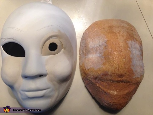 Annabelle and Smiley (with 2 coats of liquid latex), Horror Movies Costume