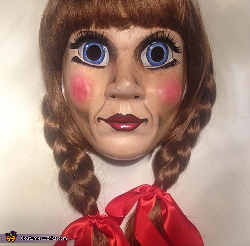 Annabelle mask result, Horror Movies Costume