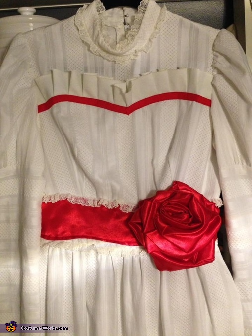 Annabelle dress, Horror Movies Costume