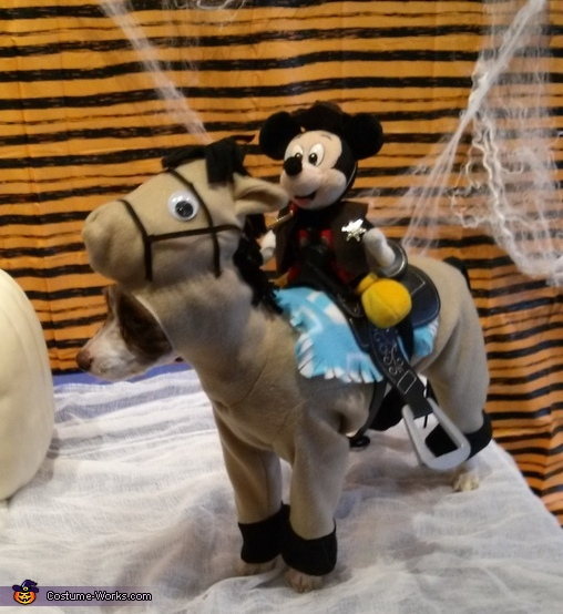 Horse Ridding Mickey Costume