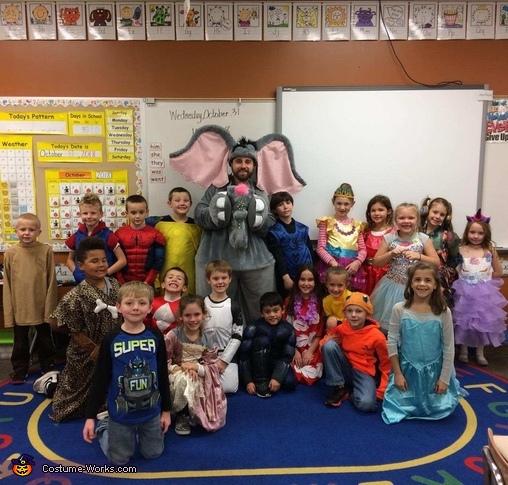 enjoying the fun, Horton Costume