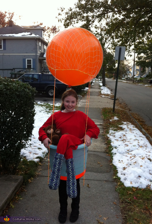 Hot Air Ballonist - Homemade costumes for girls