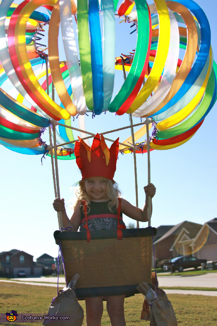 Hot Air Balloon - Homemade costumes for kids