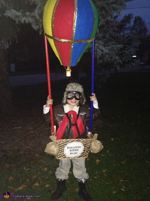 Homemade Hot Air Balloon Costume | Best