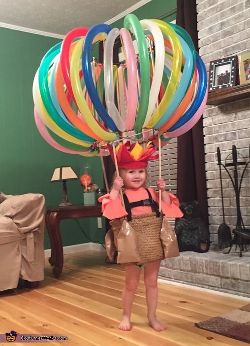 Hot Air Balloon Baby Costume