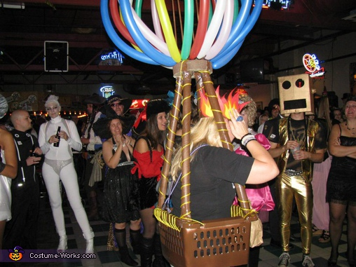 Hot Air Balloon Costume - Homemade costumes for women