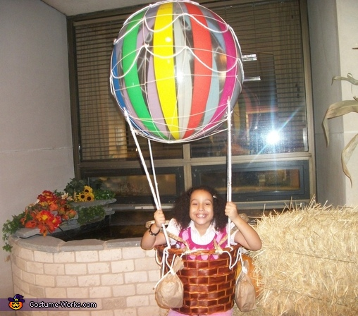 Hot Air Balloon Creative Halloween