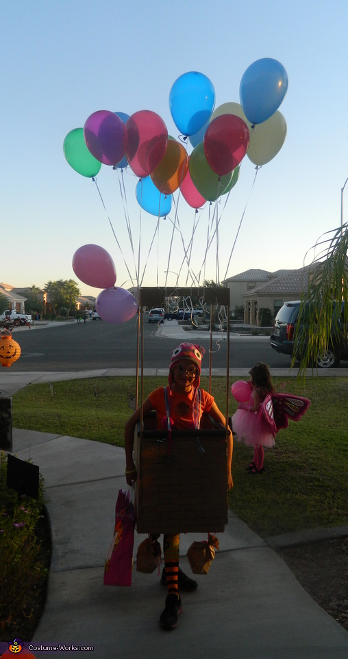 Hot Air Balloon Costume for Kids
