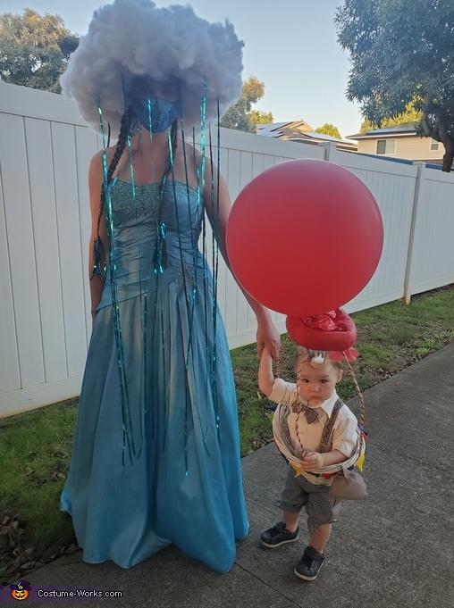 Hot Air Balloon and Rain Cloud Costume