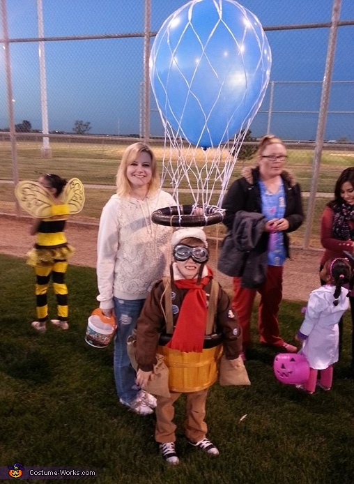 Hot Air Balloon Pilot Costume