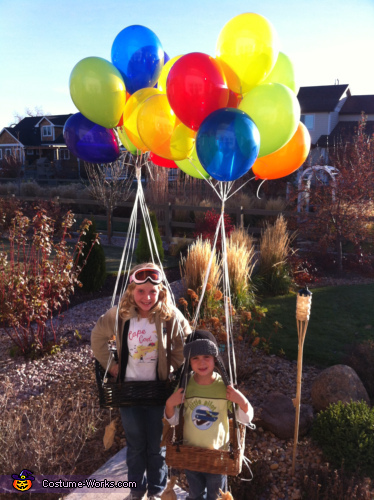 Hot Air Balloonists - Homemade costumes for kids