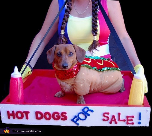 Hot Doggy Costume