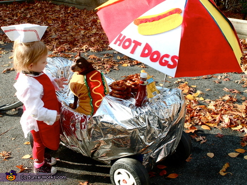 Come and Get Your Hot Dogs Here!, Hot Dogs 4 Sale! Costume