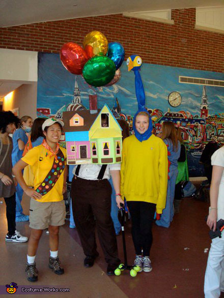 Up Movie Carl Fredricksen Costume