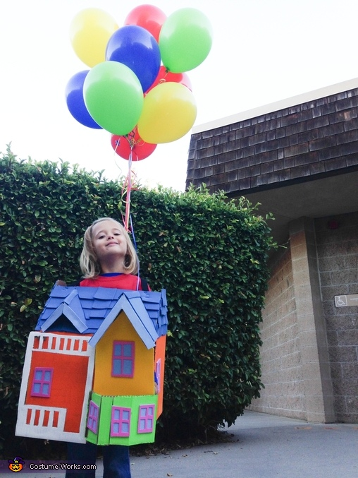 House from movie Up Costume