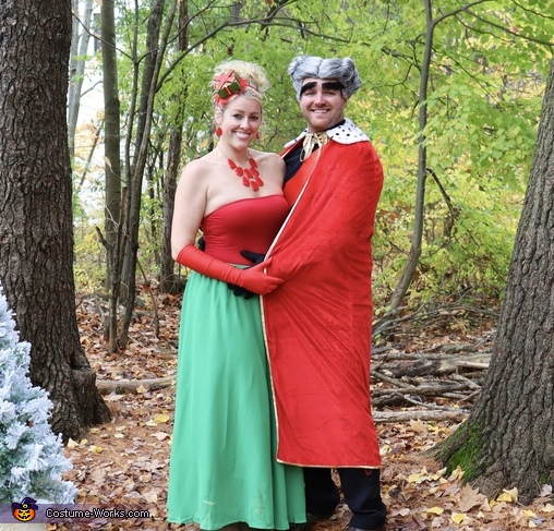 Martha and the Mayor, How the Grinch Stole Christmas Costume