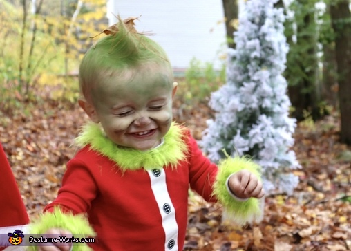 The cutest grinch, How the Grinch Stole Christmas Costume
