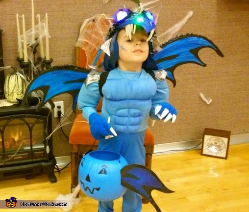 How to Train Your Dragon Homemade Costume