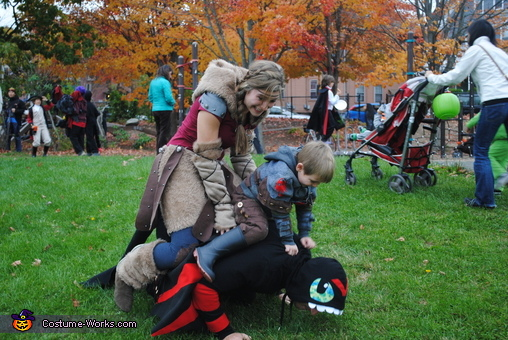 How to Train Your Dragon 2 Homemade Costume