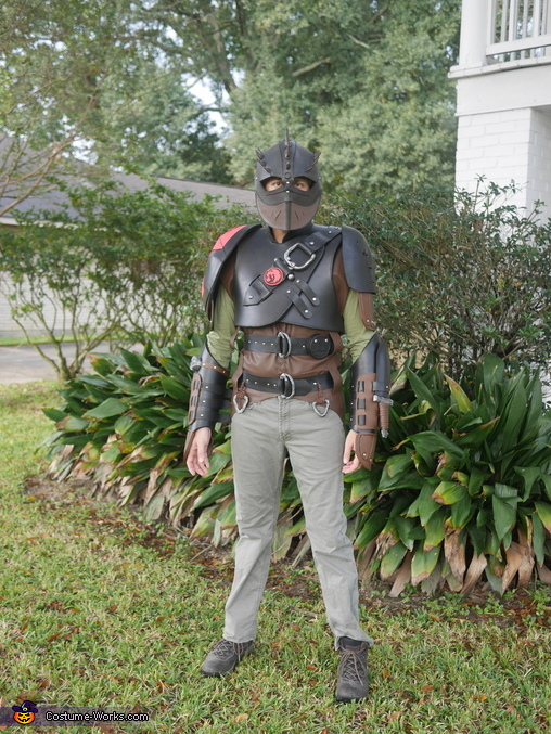 How to Train Your Dragon 2 Family Homemade Costume