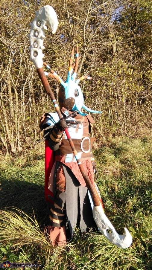 How to Train your Dragon 2 Valka Homemade Costume