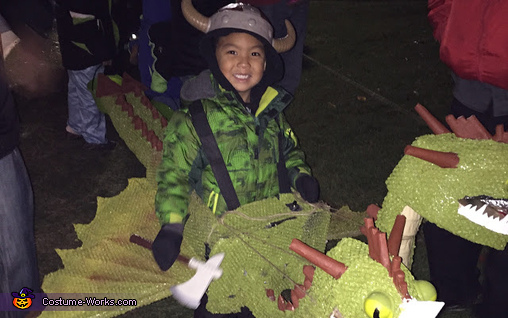 How to Train Your Dragon Barf and Belch Homemade Costume