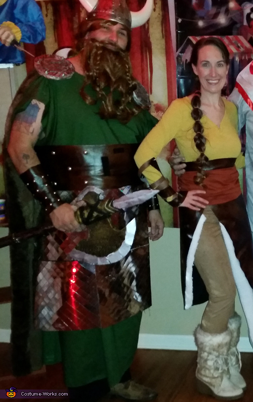 HTTYD parents, How to Train Your Dragon Family Costume