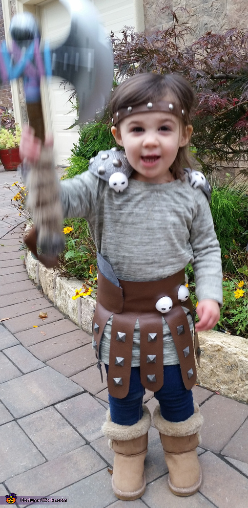 HTTYD Astrid, How to Train Your Dragon Family Costume
