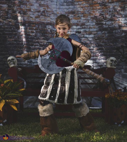 Astrid, How To Train Your Dragon Family Costume