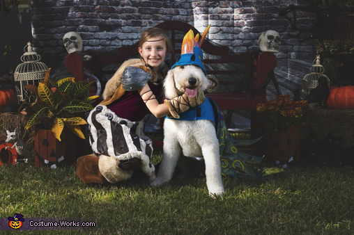 Astrid and Stormfly, How To Train Your Dragon Family Costume