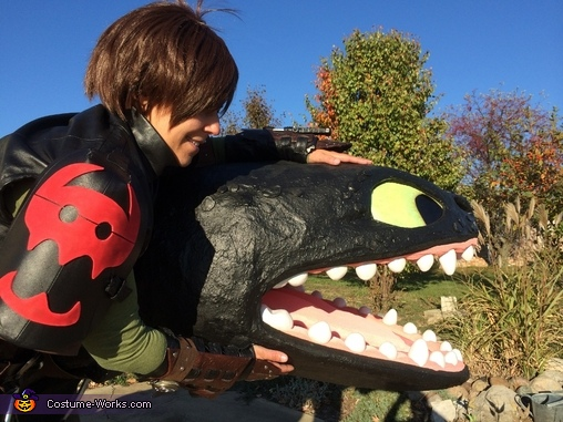 How to Train Your Dragon Hiccup Homemade Costume