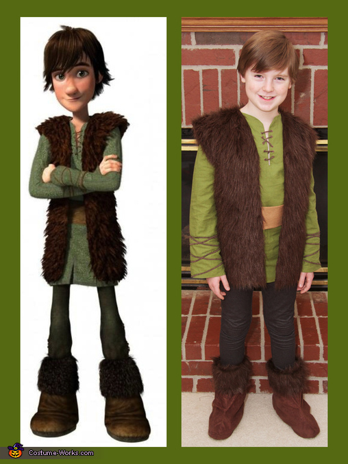 Hiccup from How to Train Your Dragon, How to Train Your Dragon: Hiccup, Astrid, and Toothless Group Costume
