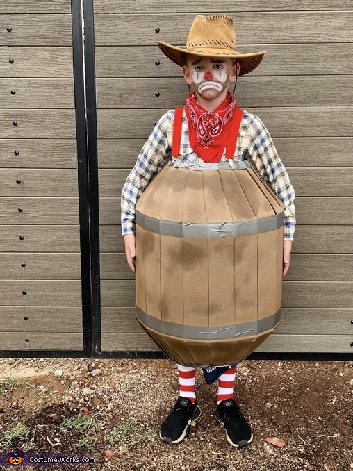 Rodeo Clown costume, Howdy Halloween Costume