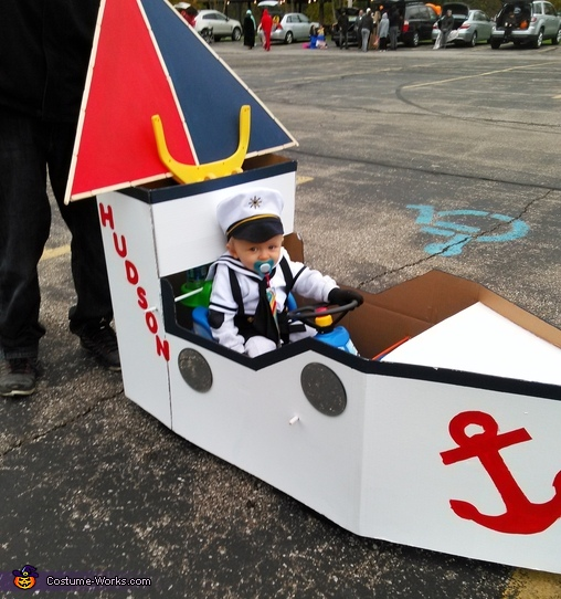 Hudson the Sailor Costume