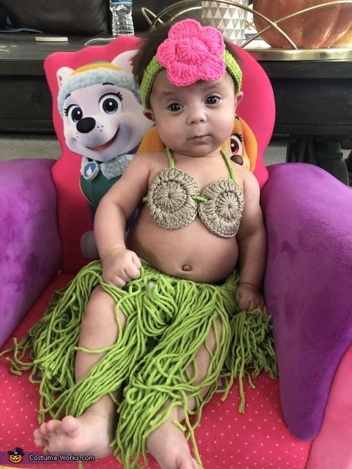 Hula Girl Homemade Costume