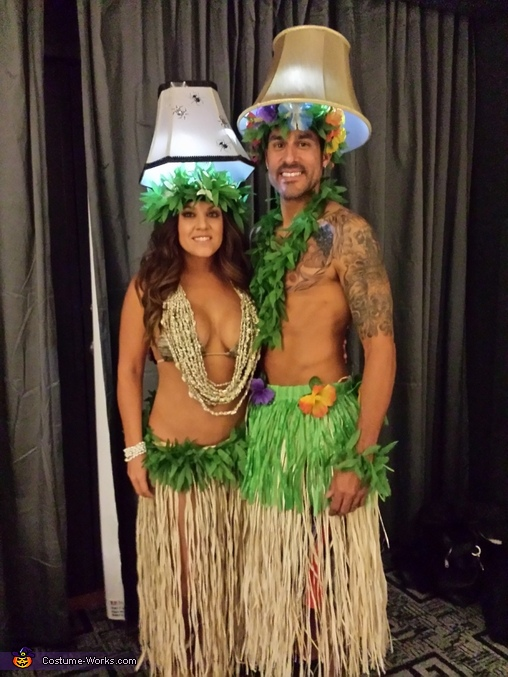 Hula Lamps Costume
