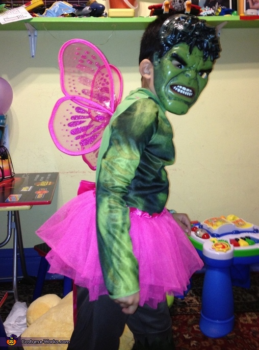Hulk-Fairy Costume