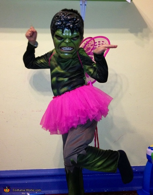 Hulk-Fairy Halloween Costume