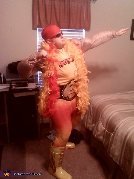 Hulk Hogan Celebrity Costume