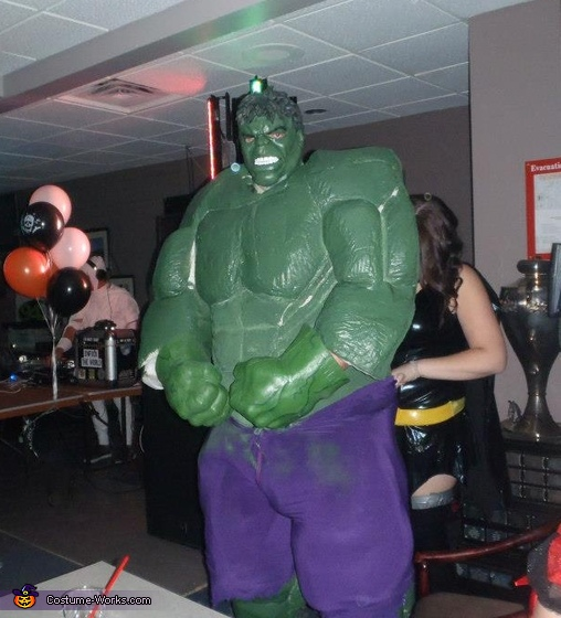 Hulk - Homemade costumes for men