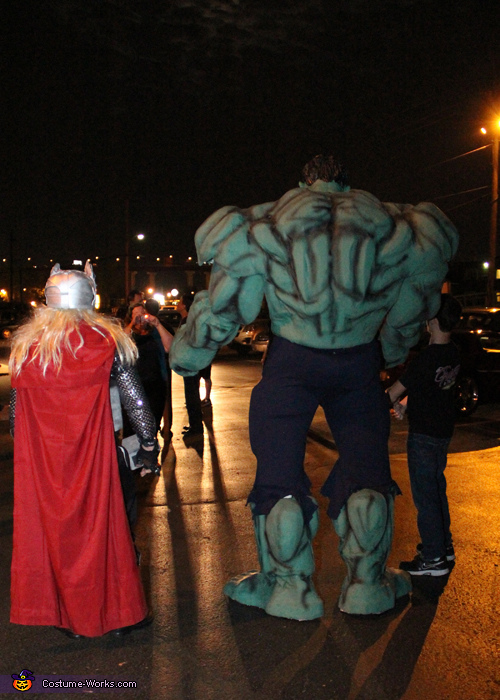 HULK and THOR, Hulk Costume