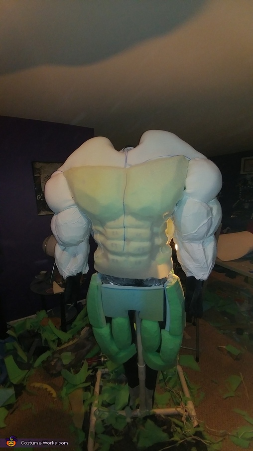 Hulk Costume adding skin, Hulk Costume