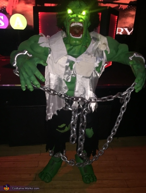 Hulk Homemade Costume